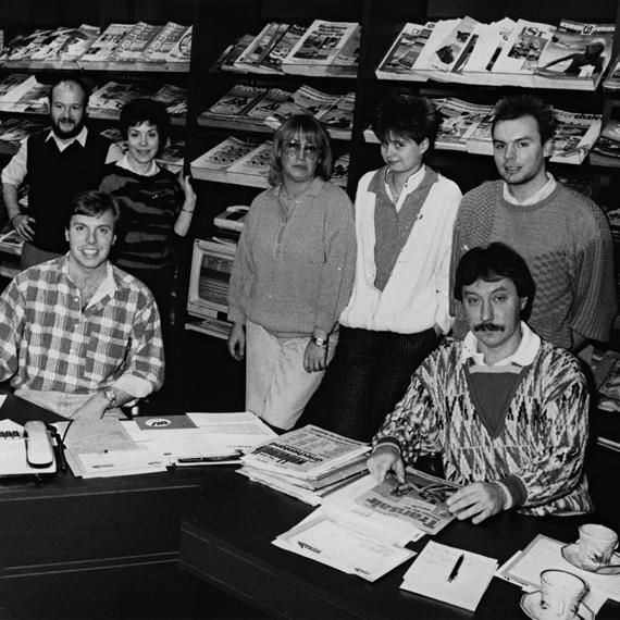Ein Bild aus alten Zeiten - Das Kozica Reisen Team in den 80er Jahren