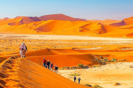 Afrika; Namibia; Sossusvlei