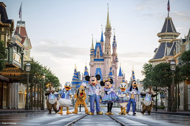 Walt Disney World Resort feiert den 50sten Geburtstag